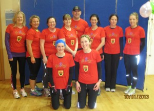 Castlebar Fit4Life in their new t-shirts