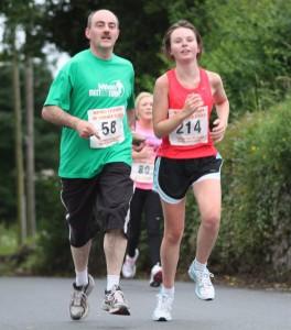 Ballyhaunis 5k: Martin on the move with Dawn Regan