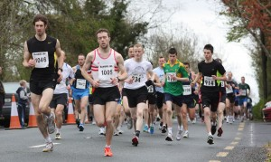 2012 start...in the absence of three times winner Martin Conroy, who will be first to cross the line this year?