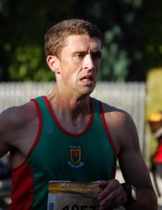 John Byrne at mile 16