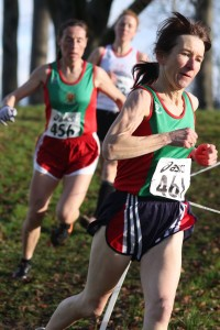 Angela O'Connor followed by Colette Tuohy in action Connacht 2012