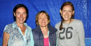 Colette, Ann and Paula ...three of Mayo AC