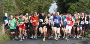 at the start 2013 Breaffy 10k