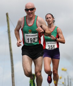 Sean Murphy o40 winner, with Norah Newcombe first woman home