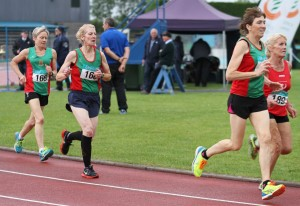 Mags, Ann, and Pauline competing in Tullamore