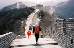 Mayo AC at the Great Wall, China- March 2009