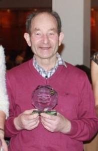 Tom Waldron, Special Achievement Award, Co Mayo Athletics Board 2014.