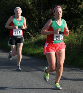 Breaffy 10k - Angela McVann 48:43, Trisha Carty 48:27 pb