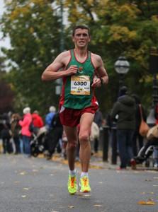 John Byrne in the Dublin City Marathon 2015
