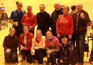 Some of our happy and warm Tuam 8k finishers