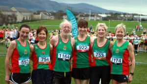 Race over - smiles all round. (picture credit Caitriona Moran)
