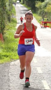 Tracy Cunnane finishes with a 10k PB at Loughglynn