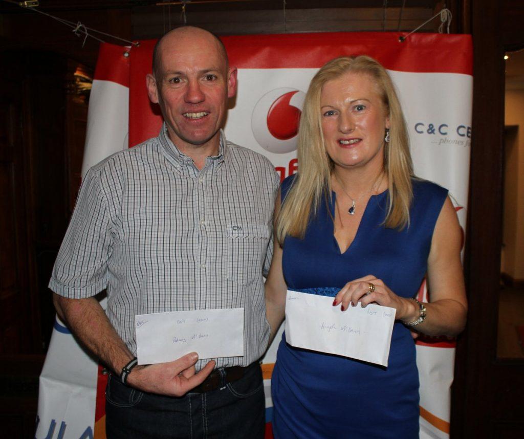2017 Club League winners: Padraic and Angela McVann