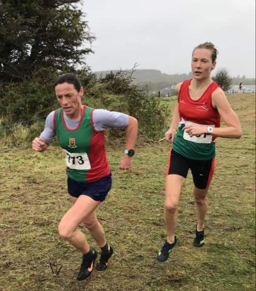 Senior women: Colette Tuohy second with winner Deirdre Galvin