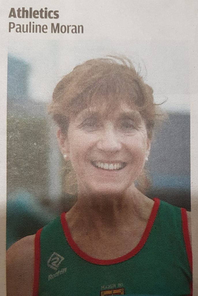 Pauline Moran 2018 Western People Sports Stars Award - Athletics