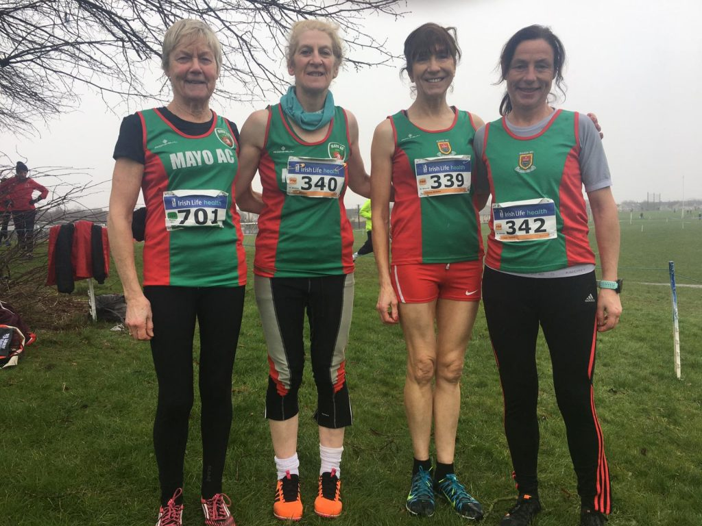 W50 team in Dundalk : Mags, Ann, Pauline and Colette